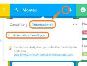 Automationen erstellen